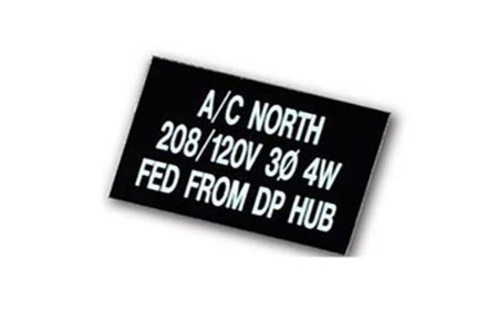 MS-478 Electrical Control Panel Signs from Marking Services