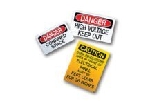 MSC MS-900 Self-Adhesive Safety Signs