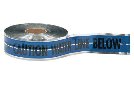 Marking Services detectable underground warning tape.