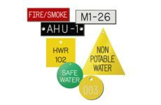 Marking Services EP valve tags