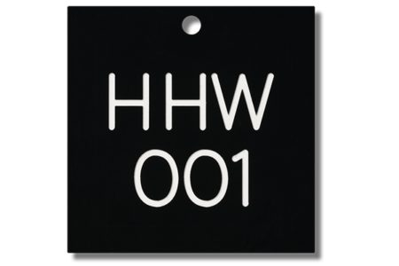 Engraved Plastic Valve Tags provide excellent visibility