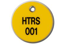 MS-215 Max-Tek Valve Tags from MSC provide excellent visibility