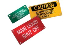 MS-215 MaxTek Equipment Tags are the highest quality tag available for marking valves, instrumentation and equipment.