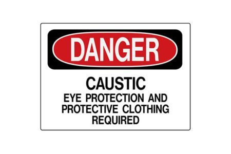 MS-215 Rigid Operation Signs and Safety Signs from Marking Services Canada