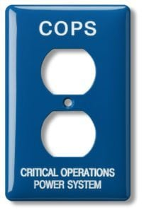 Customized cover plates from MSC take the mystery out of your switches by identifying critical electrical information based on your specifications.